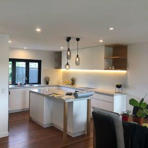 Kitchen Led And Hanging Light